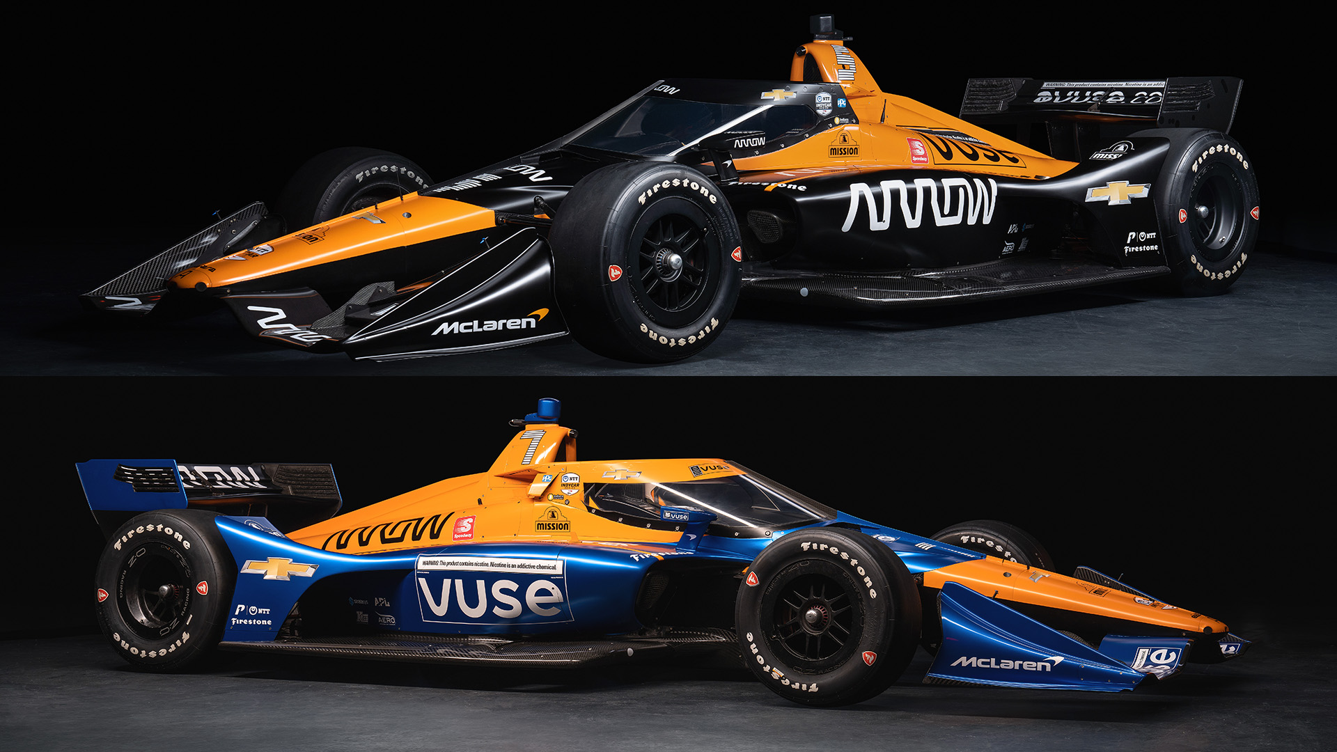 Arrow McLaren SP 2021 Liveries