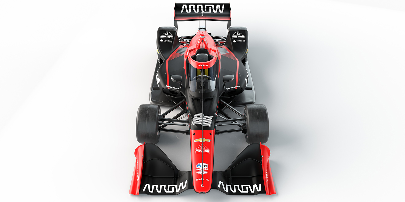 Lucas Oil No 86 Arrow McLaren SP Chevrolet Front